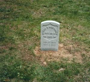 Private Northrup's Headstone