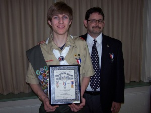SUVCW Eagle Scout Award